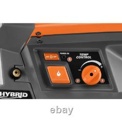 18-Volt 60K Btu Hybrid Forced Air Propane Portable Heater
