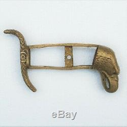 19th Century Brass Sword Handle with Eagle Head from American Spanish War