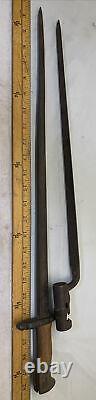25 Antique Hand Forged Bayonet w Brass Wood handle & Bayonet Sword OLD