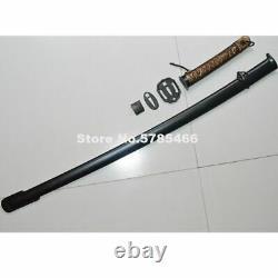 A Set Fittings Japanese Sword Samurai Katana Sheath & Brass Handle & Lock Screws