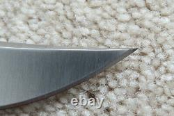 Buck 120 General Black Phenolic Handle withBrass BOS 5160 Fixed Blade 120BKSSH