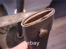 Confederate CIVIL WAR Brass Handled Artillery Short Sword withWOODEN Scabbard REAL