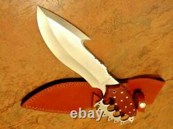 D 2 Steel Knife Custom Handmade 16 Micarta Handle Hunting Knife