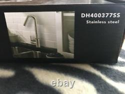 Danze DH400377SS CAIN Single Handle Pull-Down Kitchen Faucet, Stainless Steel N