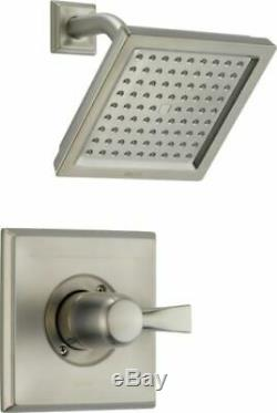 Delta T14251-SS Dryden Stainless Steel 1-Handle Square Shower 456073