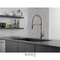 Delta Trinsic Pro Single-Handle Pull-Down Sprayer Kitchen Faucet