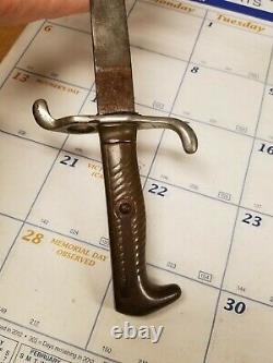 German Model 1871 Dress Bayonet Brass Handle Etched Blade Engraved Blade Pre WW1