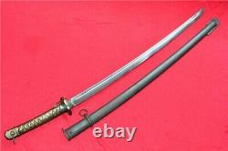 HandMade Military Japanese NCO Sword Saber Samurai Katana Brass Handle Steel