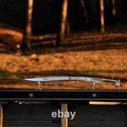 Handmade Turkish Sword 4034 ottoman brass handle stainless steel