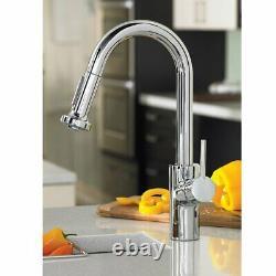 Hansgrohe Talis S² Premium 1-Handle 15-inch Kitchen Faucet, Steel Optic, 04286800