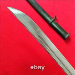Japan NCO Sword Samurai Katana W Matching Number Brass Handle Steel Sheath S844
