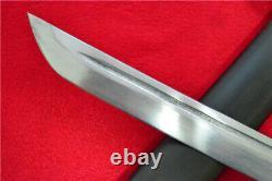 Japanese NCO Sword Samurai Katana Brass Handle Steel Scabbard Signed Blade F756