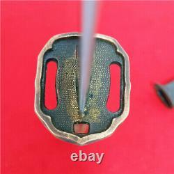 Japanese NCO Sword Samurai Katana Matching Number Brass Handle Steel Sheath A887