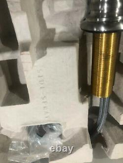 KOHLER 99264-VS Artifacts Single-Handle Bar Sink Faucet Vibrant Stainless Steel