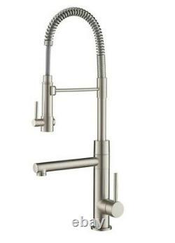 KRAUS Artec Pro Single-Handle Pull-Down Sprayer Kitchen Faucet & Pot Filler NIB