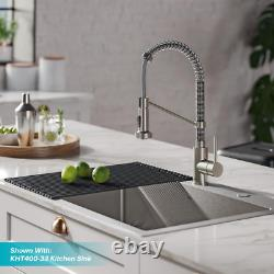KRAUS Pull Down Kitchen Faucet Dual Function Sprayhead Rocker Switch 1-Handle