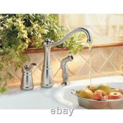 Marielle Single-Handle Side Sprayer Kitchen Faucet in Stainless Steel by Pfister