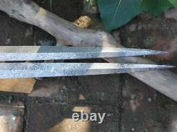Masonic Lodge Sword WM design AASR brass Heavy handle Flamberg blade 34 long