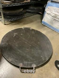 Mild Steel Tava (Tawa) / griddle /Tikki Tava 18, 24 & 30 diameter and handle