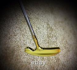 Pre-Scotty Cameron/Acushnet BullsEye Flange 36 RH Putter/New Leather Grip