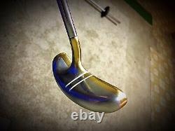 Pre-Scotty Cameron/ Acushnet Bullseye Mallet 35 RH Putter/ Original Grip