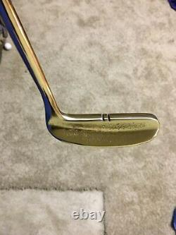 Pre-Scotty Cameron/Heal Shafted Flange 35 Rh Putter/New Leather Grip/8802