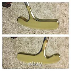 Pre-Scotty Cameron/Titleist BullsEye Heavy Blade 34.5 Rh/Lh Putter/New Grip