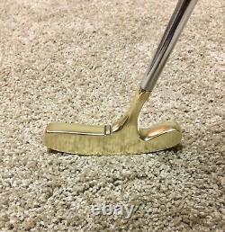 Pre-Scotty Cameron/Titleist BullsEye Heavy Blade 34 Rh Or Lh Putter/New Grip