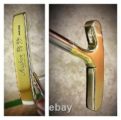 Pre-Scotty Cameron/Titleist BullsEye Heavy Blade 35 Rh Or Lh Putter/New Grip