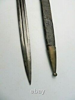 RARE 1850 French Sword brass handle Louisiana Estate Civil War 1st Infantry