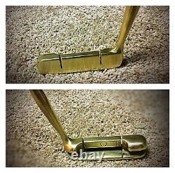 RARE Ben Hogan Texas 1400 Rh Putter/35 New Leather Grip/8802 Style/SWEET