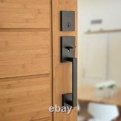 Single Cylinder Front Lock Handleset Halifax Door Handle Lever SmartKey Security