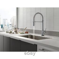 Trinsic Pro Single-Handle Pull-Down Sprayer Kitchen Faucet With Touch2O Technolo