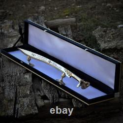 Turkish Handmade Sword 4034 ottoman brass handle stainless steel