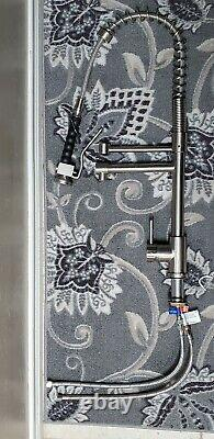 VIGO Kitchen Faucet Single-Handle Pull-Down Spray Wand Stainless Steel