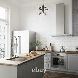 VIGO Laurelton Single-Handle Pull-Down Sprayer Kitchen Faucet in Stainless Steel