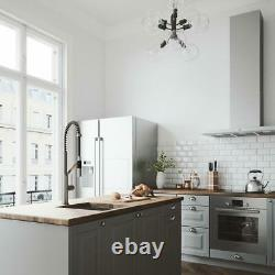 VIGO Livingston 1-Handle Pull-Down Sprayer Kitchen Faucet in Stainless Steel
