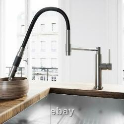 VIGO Norwood Single-Handle Pull-Down Sprayer Kitchen Faucet in Stainless Steel