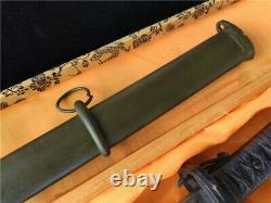 Vintage Military Japanese Army Sword Sabre Japanese Samurai Katana Brass Handle