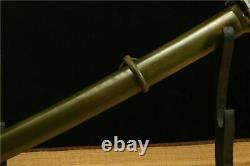 Vintage Military Japanese Army Sword Sabre Samurai Katana Brass Handle