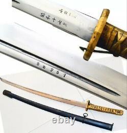 WW2 WWII Military Japanese NCO Sword Saber Katana Brass Handle repro
