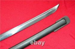 WW2 WWII Military Japanese NCO Sword Saber Samurai Katana Brass Handle repro